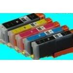 PGI 550/CLI 551XL: pack de 5 cartouches compatibleS PLEINES