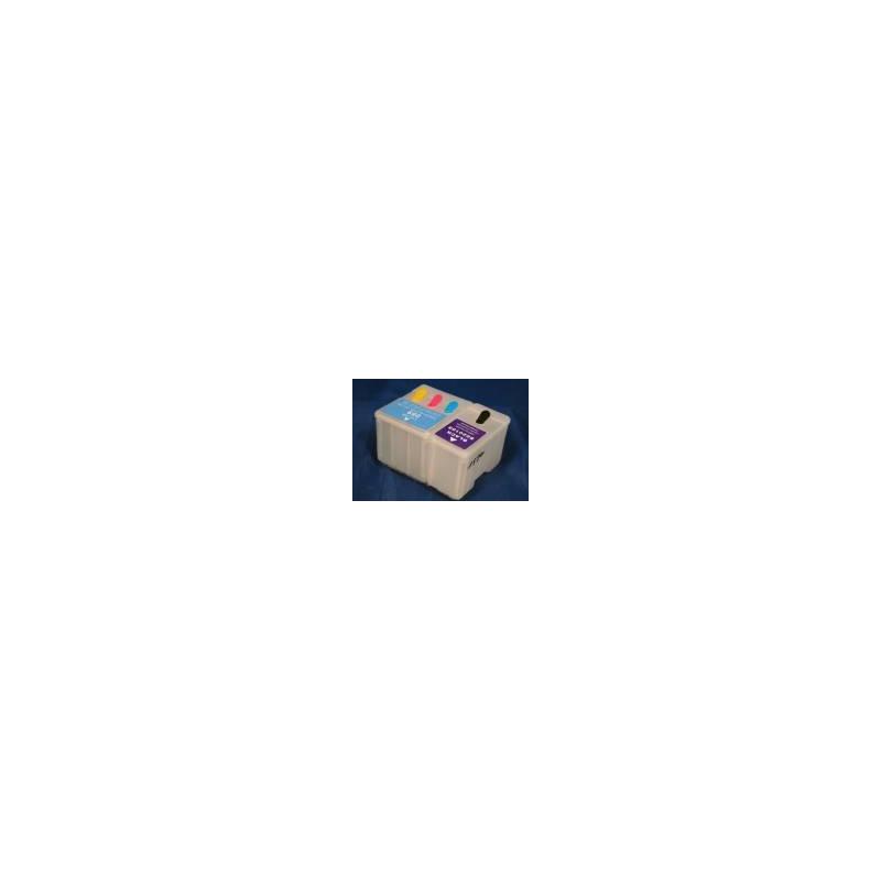 Epson 1520, 400, 600, 800, 850: cartouche vide rechargeable avec puce autoreset