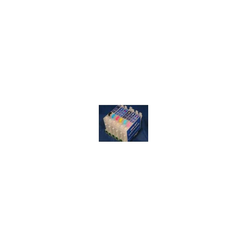 TO481 à 486: cartouches vides rechargeables avec puce autoreset