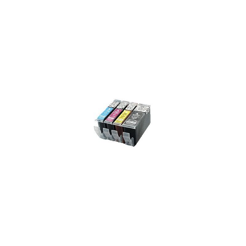 kit de cartouches compatibles alimentaires pour Canon