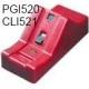 PGI520/CLI521: Resetter SUDHAUS seul pour reprogrammer les puces