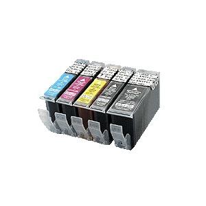 PGI5/CLI8:cartouche compatible alimentaire pour Canon avec puce