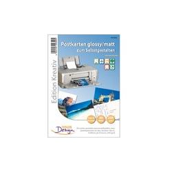 30 cartes postales à imprimer. 230g/m2