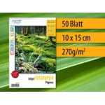 Papier photo brillant 50 feuilles 10x15 cm 270g 9600dpi