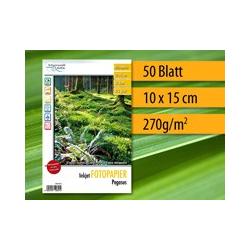 Papier photo brillant 50 feuilles 10x15 cm 270g 9600dpi