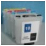 HP10+82: kit  de cartouches compatibles rechargeables vides