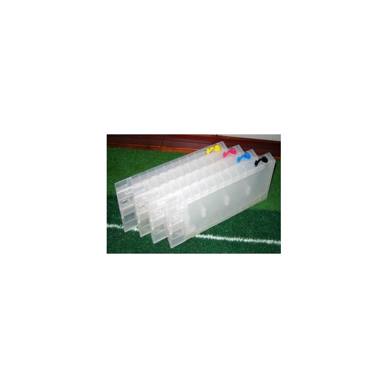 4 cartouches rechargeables sans puce pour Epson B500, 300,