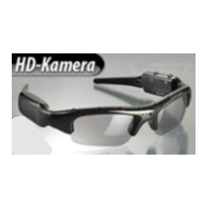 Caméra/Lunettes de soleil James Bond : qualité HD jusqu'à 720 pixel