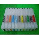 Pro97910/9910/7900/9900: 11 cartouches rechargeables 700 ml sans puce pour Epson