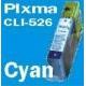 CLI526 AVEC puce: Cartouche SUDHAUS compatible couleur 9ml pour Canon. couleur au choix dans détail