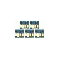 6 puces à usage unique pour  PGI525/CLI526
