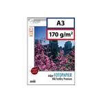 A3: papier photo 170g brillant. 100 feuilles