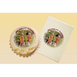 A3:Papier comestible decorplus pour gâteaux à la crème, au beurre, etc (10 feuilles)