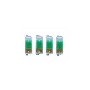 T0611 à614: 4x puces autoresett pour Epson . Set complet