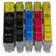 HP 364xl  bk petite, c, m ou y au choix: cartouche compatible AVEC puce