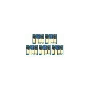 5 puces à usage unique pour  PGI520/CLI521
