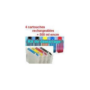 Pack T01281à1284 plus 5x100 ml encre pigmenté