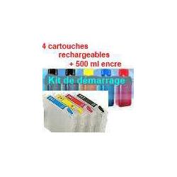 Pack T0711à714 plus 5x100 ml encre