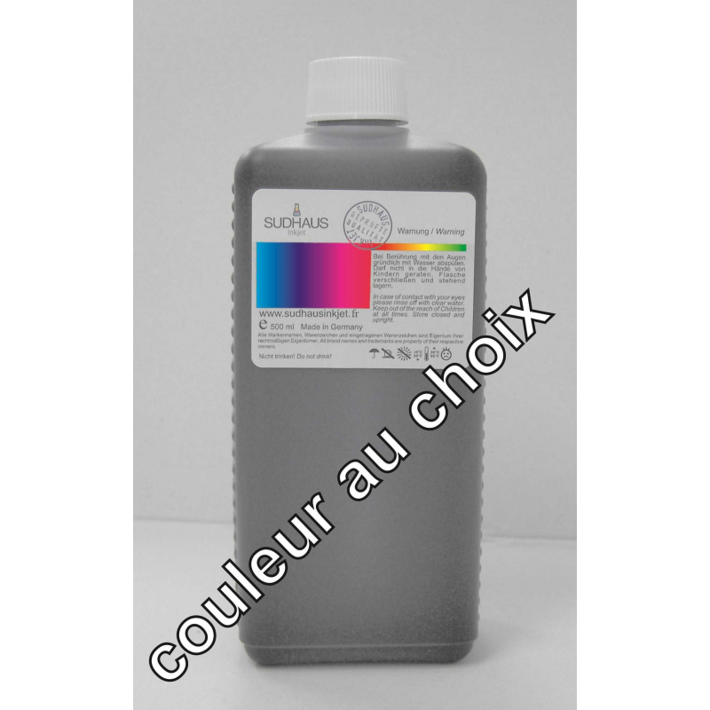 500 ml encre compatible SUDHAUS BCI3/BCI6 pour imprimantes Canon (couleur au choix)