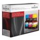 Encre de remplissage noir pigmenté pour Lexmark
