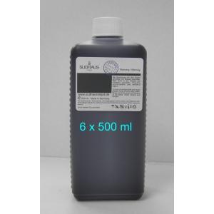 5x500 ml  encre  Sudhaus compatible pour imprimantes Canon  avec des PGI520/525 ou CLI521/526