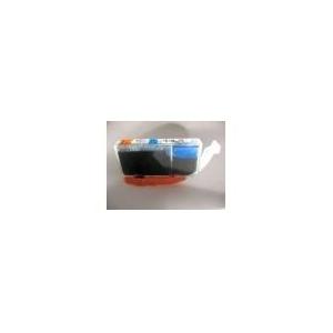 1x CLI521/526BK: cartouche comp. alimentaire sans puce (couleur au choix)