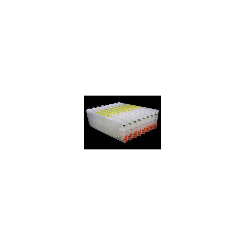 T6041 à 6047+6049: 8 cartouches rechargeables avec puces