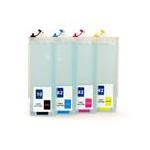 HP10+82XXL: kit  de cartouches compatibles rechargeables vides avec puces autoreset