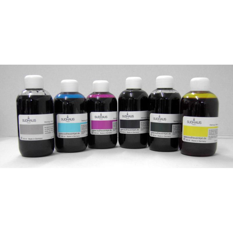 6x100 ml encre compatible Pigmenté pour Epson