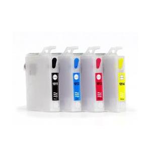 T1811-1814: cartouches rechargeables avec puces autoreset