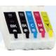 T26: 5 cartouches recharchargeables avec puces autoreset