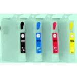 T18: 4 cartouches recharchargeables avec puces autoreset