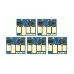 5 puces à usage unique pour  PGI525/CLI526
