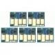 5 puces autoreset pour  PGI550/CLI551