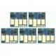 6 puces autoreset pour  PGI550/CLI551