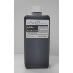 Pack 5x500 ml encre compatible ultra DYE pour Epson +cartouches rechargeables T1801-1804