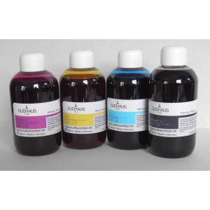 SUDHAUS: kit 4x100 ml encre compatible pour cartouches Brother