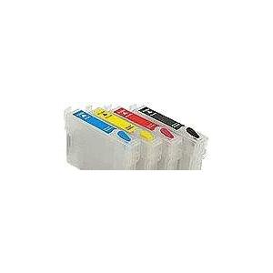HP 920: 4 cartouches rechargeables avec puces permanentes
