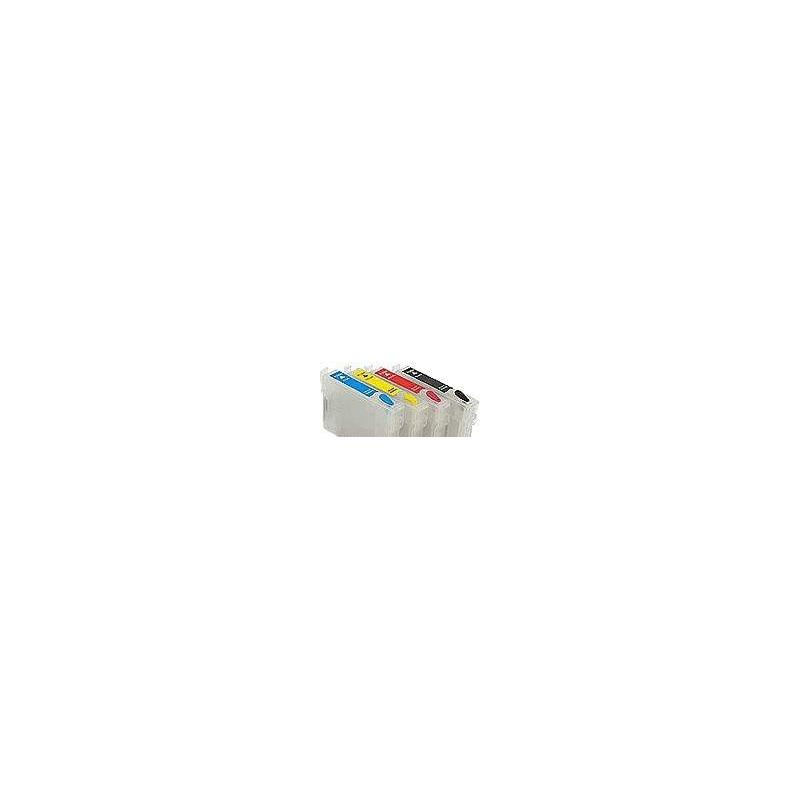 HP 920: 4 cartouches rechargeables avec puces autoreset