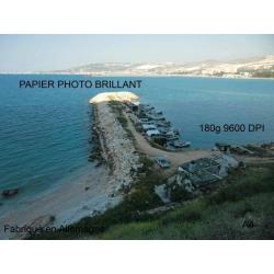 Papier photo brillant 250 feuilles A4, 180g, 9600dpi