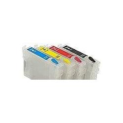 T1291 à 1294:1 cartouche d'encre vide rechargeable avec puce auto-reset