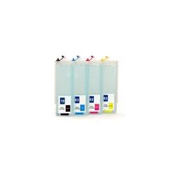 Kit HP940 : 4 cartouches rechargeables avec puces autoreset