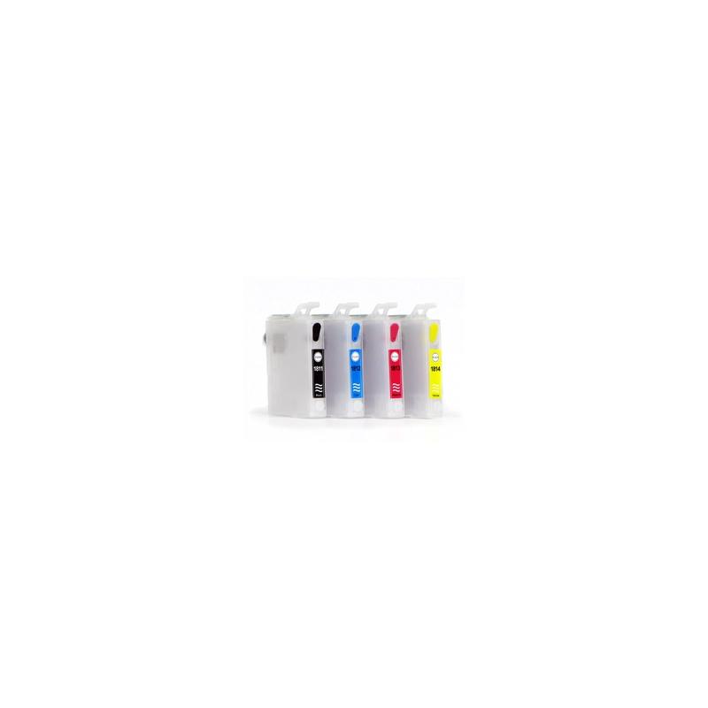 T27xx: cartouches rechargeables avec puces autoreset