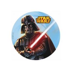 Papier azyme diamètre 20 cm Star Wars
