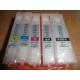 PGI550/CLI551: Kit de 5 cartouches vides rechargeables avec PUCEs autoreset