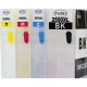 PGI 2500: 4 cartouches rechargeables