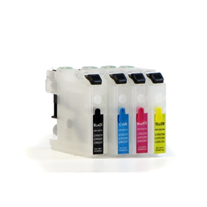 cartouches rechargeables pour Brother LC 980/1100