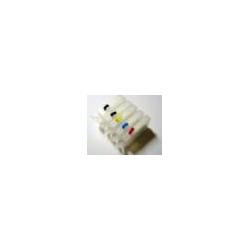 PGI550/CLI551 cartouches vides rechargeables + encres alimentaires