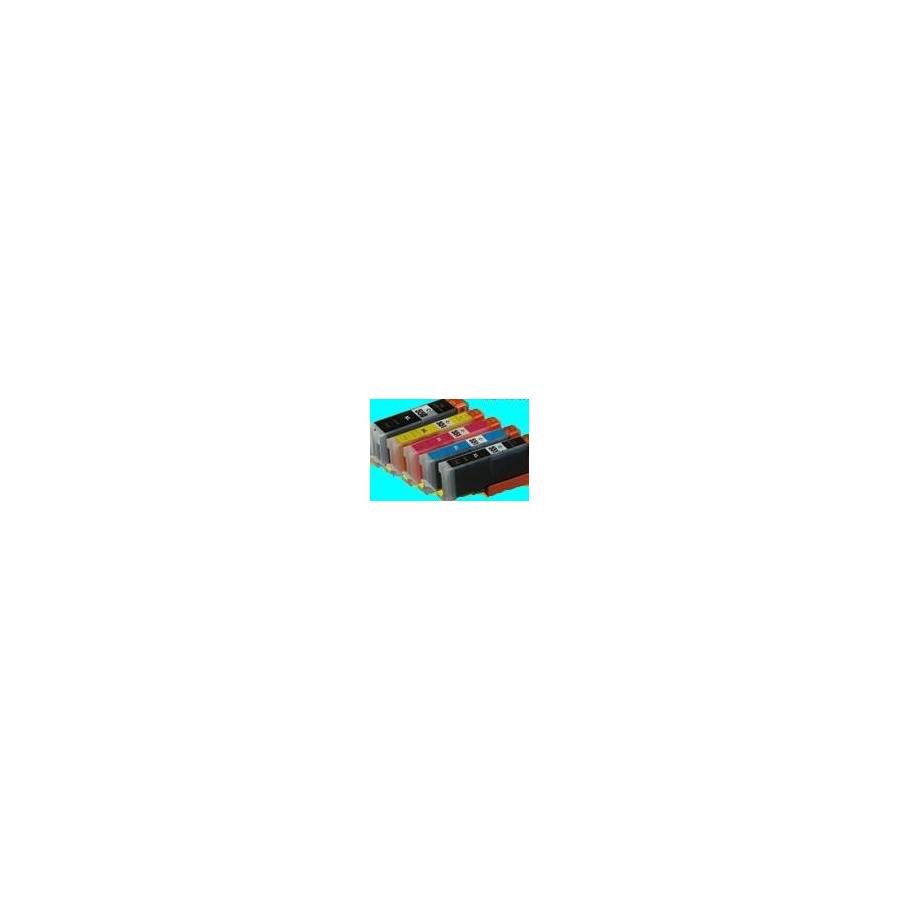 PGI550/551:5 cartouches alimentaires