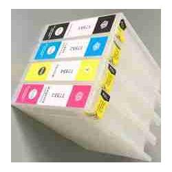 T7551-7554: cartouches rechargeables avec puces autoreset